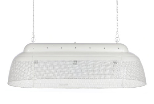 River Long Linear Matt White Pendant Light