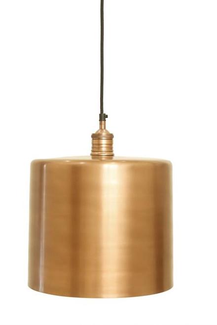 Zet Copper Drum Pendant Light