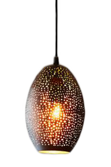 Stella Black Balloon Pendant Light - Switched On