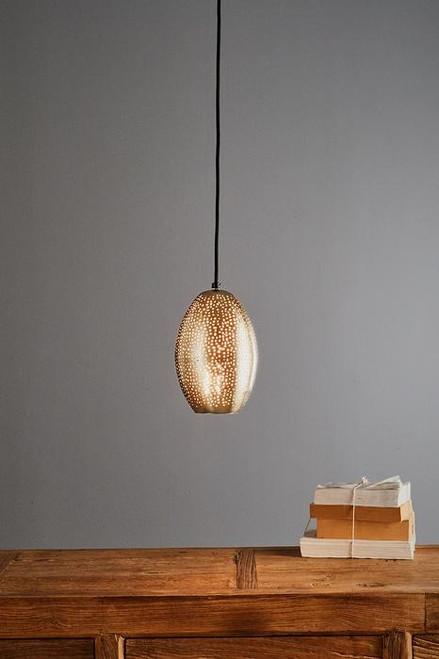 Stella Nickel Balloon Pendant Light