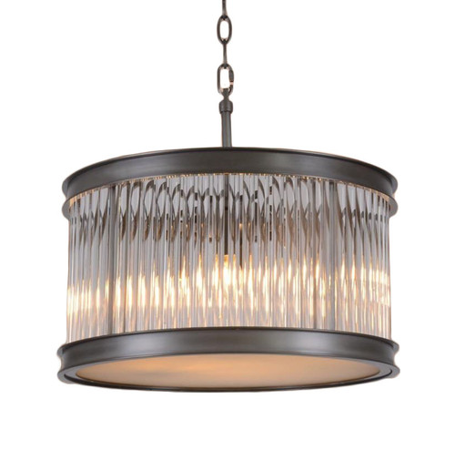 Bicchiere Round Ring Glass Pendant Light