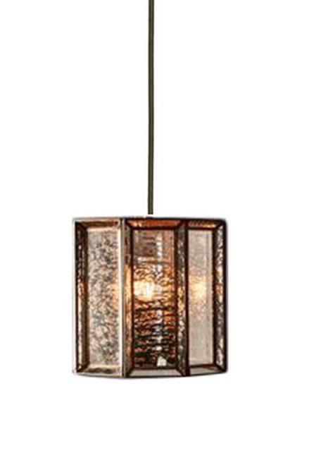 Ox Glass Iron Brass Pendant Light
