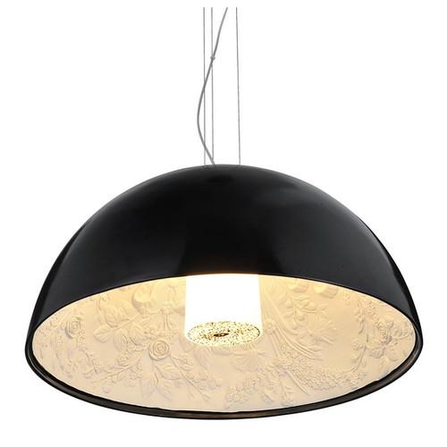 Replica Flos Marcel Wanders SkyGarden Pendant Lamp - Gloss Black - Light On - Medium