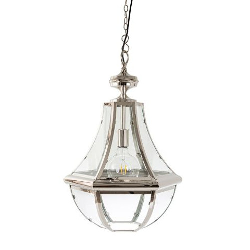 Juan Nickel Hanging Pendant Light