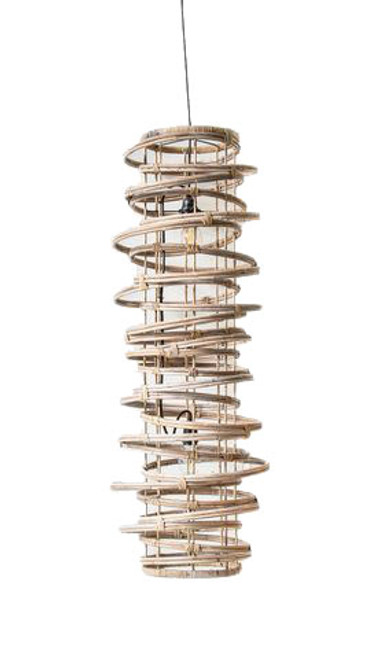Kobo Natural Long Pipe Pendant Light