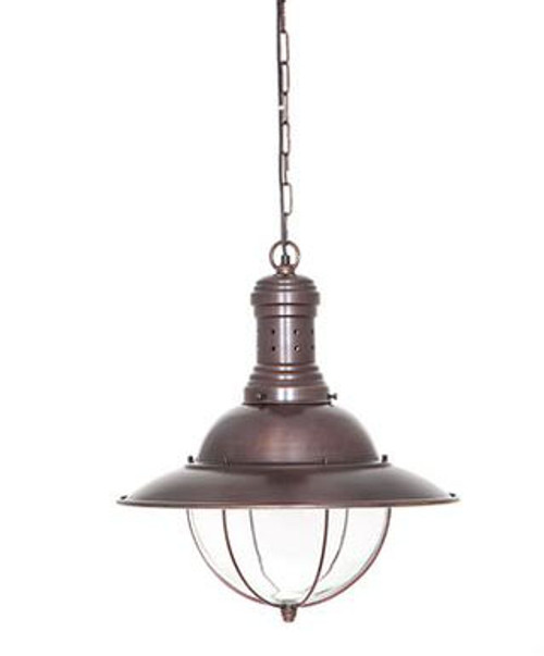Marine Bronze Hanging Lamp