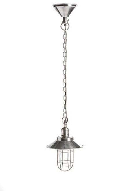 Maine Overhead Silver Pendant Light
