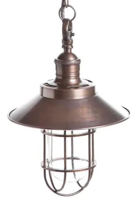 Vermont Antique Bronze Edison Pendant Light