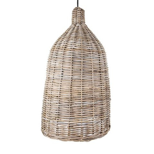 Palm Rattan Bell Hanging Pendant Lamp