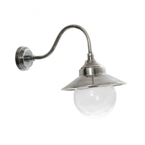Zilo Antique Silver Wall Lamp