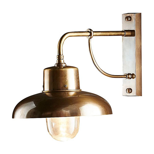 Bridgewater Brass Outdoor Wall Lamp
