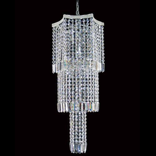 Glacier Chrome Asfour Crystal Chandelier