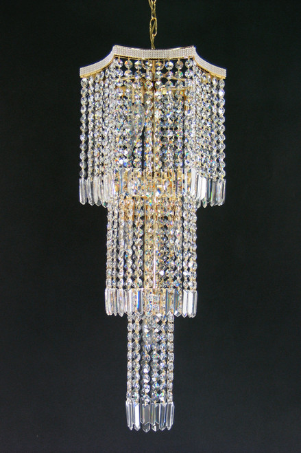 Glacier Gold Asfour Crystal Chandelier