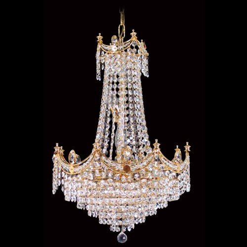 Medium - Cascading Empress Asfour Crystal Chandelier