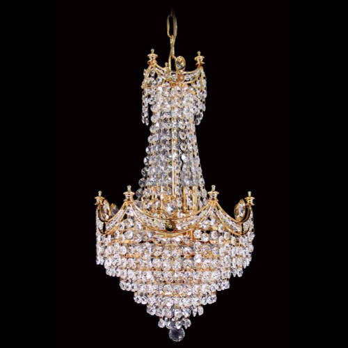 Small - Cascading Empress Asfour Crystal Chandelier