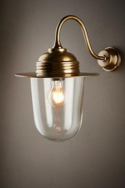 Stanton Antique Brass Wall Lamp