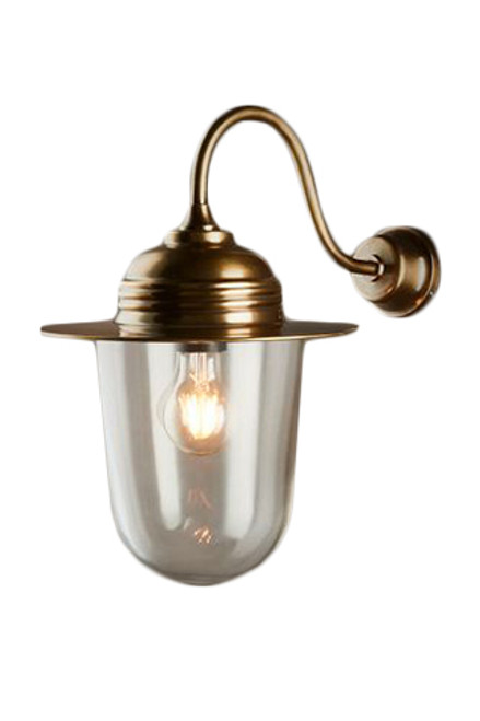Stanton Antique Brass Wall Lamp