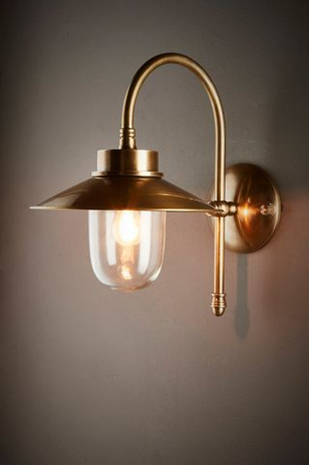 Legacy Antique Brass Wall Light