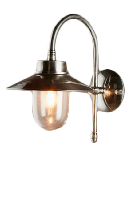 Legacy Antique Silver Wall Light