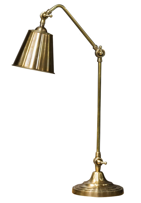 Cuba Antique Brass Table Lamp