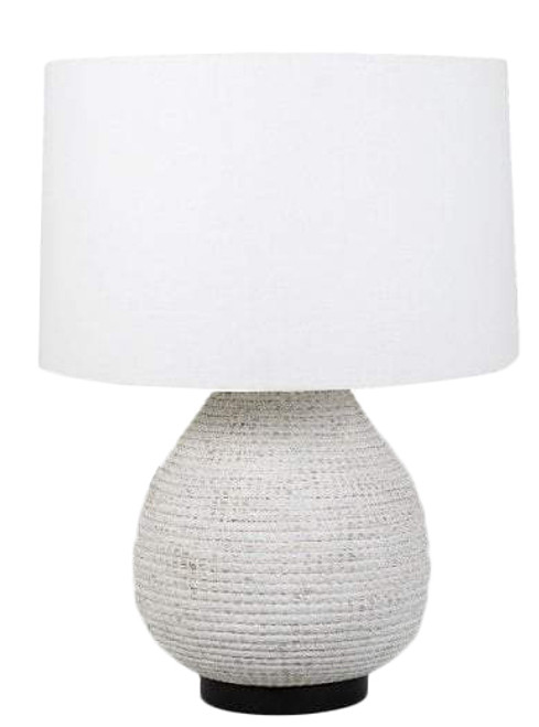 Marley White Table Lamp