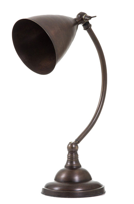 Brent Dark Brass Table Lamp