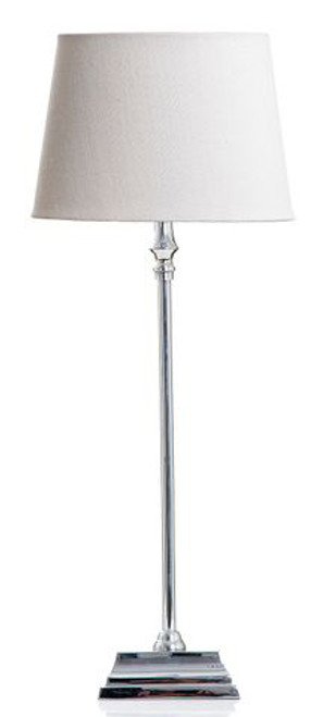 Athens Shiny Nickel Table Lamp