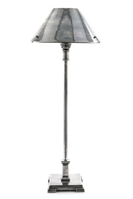 Brescia Antique Silver Table Lamp