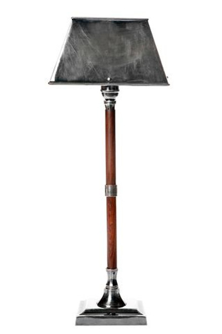 Jersey Silver Timber Table Lamp