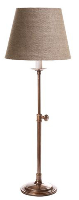 Porto Antique Brass Table Lamp