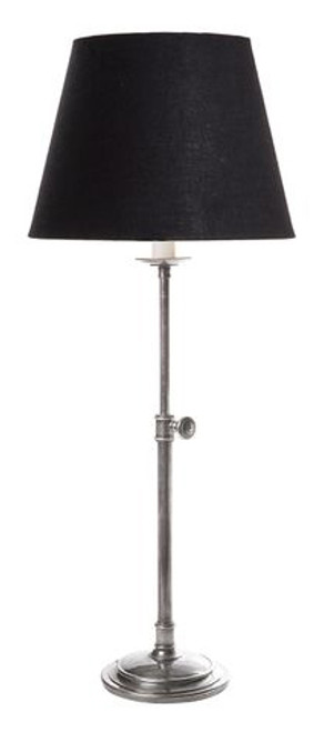 Porto Antique Silver Table Lamp