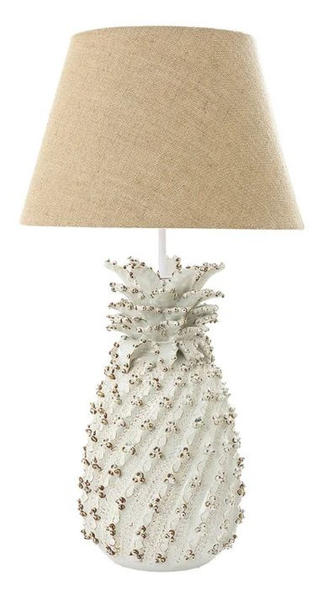 Pineapple White Table Lamp