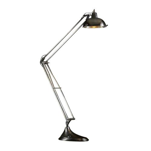 Mercury Antique Silver Floor Lamp