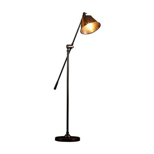Winslow Antique Brass Floor Lamp