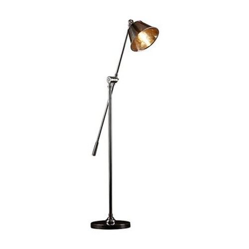 Winslow Antique Silver Floor Lamp