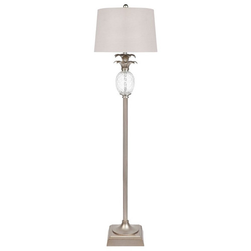 Langly Antique Silver Floor Lamp