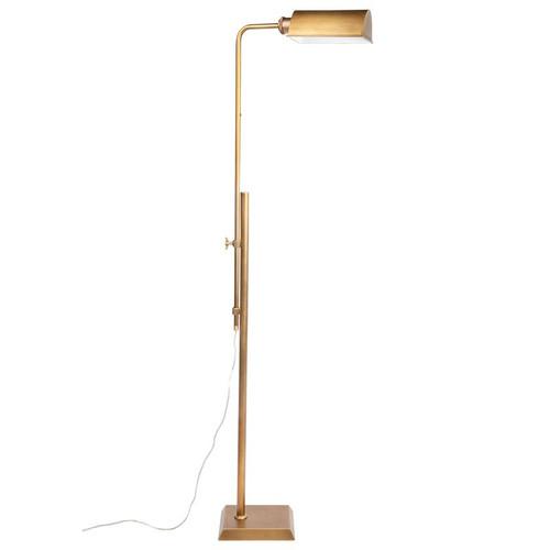 Rikki Brass Floor Lamp