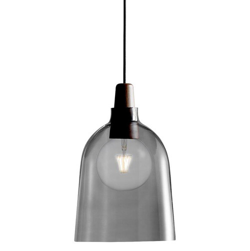 Karma 24 Smoke Timber Top Pendant Light