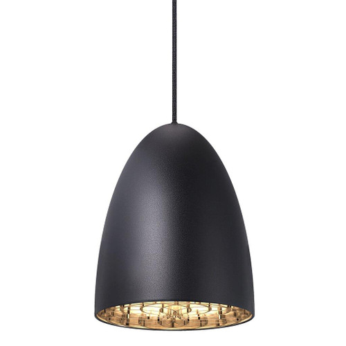 Nexus 20 Bell Pendant Light  - Black