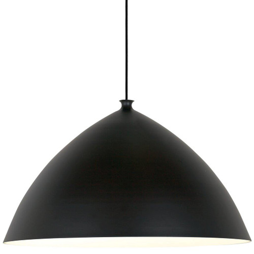 Slope 50 Black Bell Dome Pendant Light