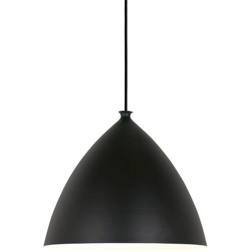 Slope 35 Black Bell Dome Pendant Light