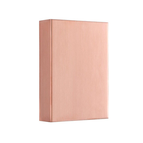 Fold Copper Outdoor Wall Light