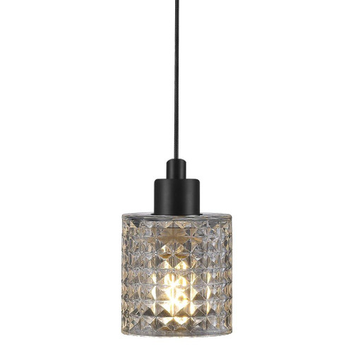 Hollywood Clear Cut Glass Pendant Light