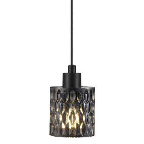 Hollywood Smoked Glass Pendant Light