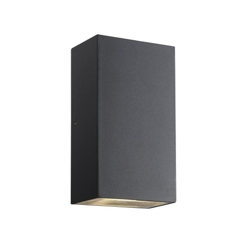 Rold Black Rectangle Outdoor Wall Light