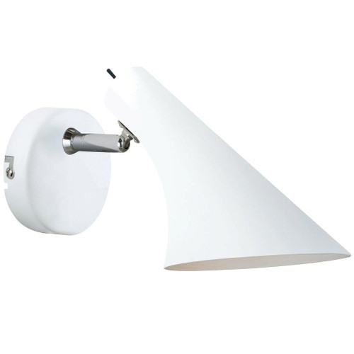 Danish Simple White Wall Light