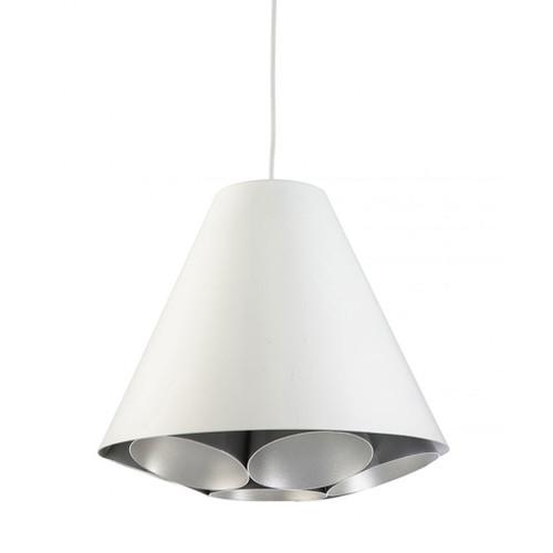 Serata White Cone Pendant Light