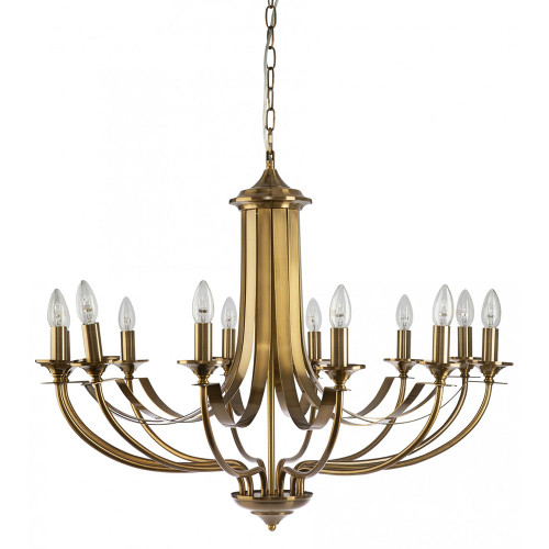 Cannes 12 Light Bronze Chandelier
