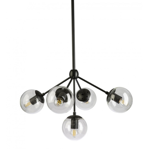 Replica Modo 5 Light Cluster Chandelier - Black