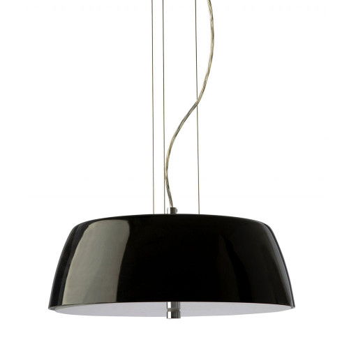 Macau 3 Light Black Modern Pendant Light